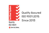 ISO:9001 Quality Assured